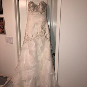 perfect condition mermaid style wedding dress